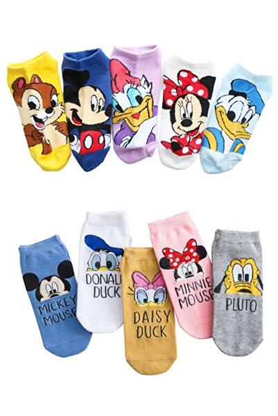 dm del more 10'lu Sevimli Disney Çoraplar Seti