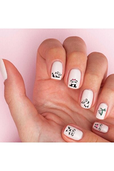 Artikel Panda Tırnak Dövmesi,tırnak Tattoo,nail Art ,tırnak Sticker