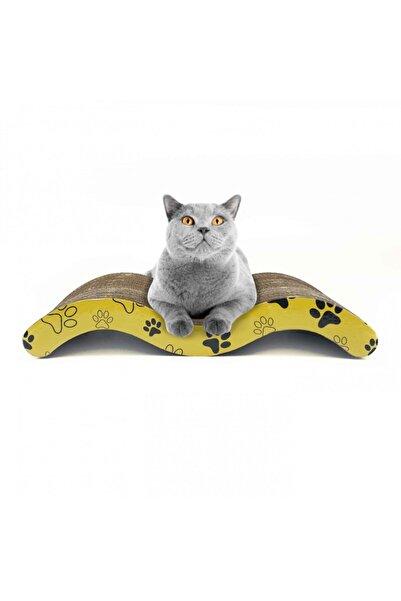 Artikel Ondüle Karton, Kedi Tırmalama Tahtası 44x7,5x20cm, Kedi Tırmalama Rampası
