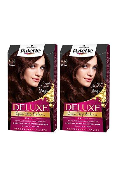 PALETTE DELUXE Deluxe 4-68 Koyu Kestane  X 2 Adet