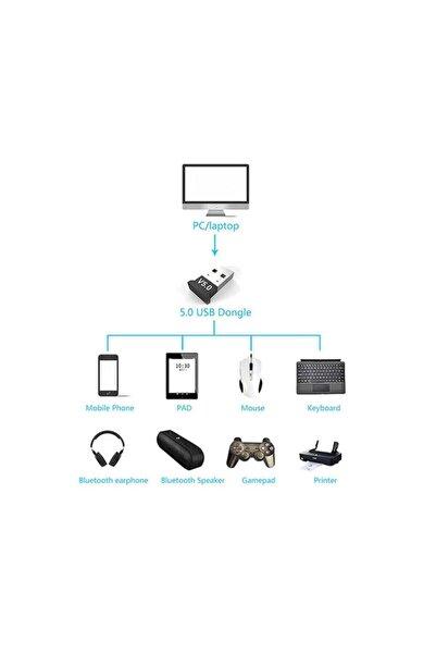 WOZLO Mini V5.0 Usb Bluetooth Dongle V5.0 Bluetooth Adaptör