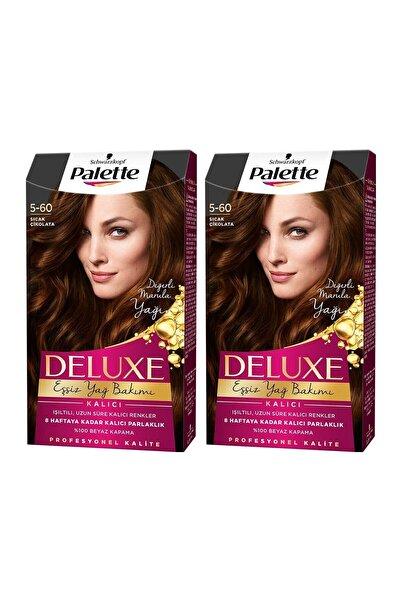 PALETTE DELUXE Deluxe 5-60 Sıcak Çikolata  X 2 Adet