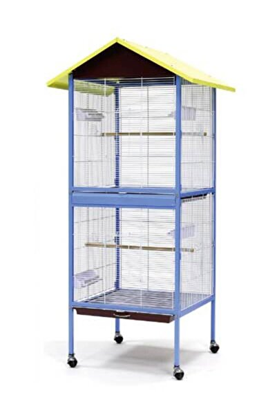 Dayang Büyük Muhabbet Kuşu Kafesi 60x60x167
