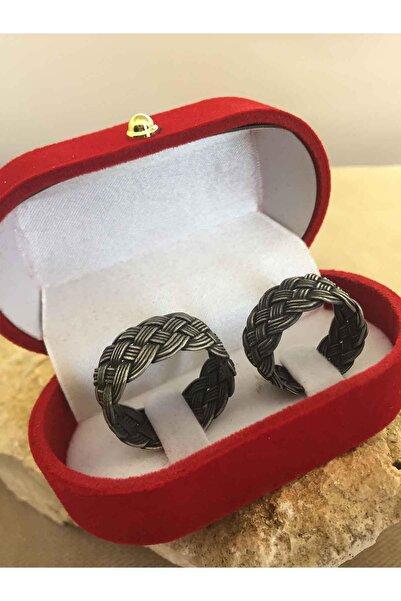 Beyisa Oksitli Gümüş Örgülü El Işi 925 Ayar Gümüş Alyans Söz Evlilik Çift Yüzükleri Toptan Ve Perakende Er