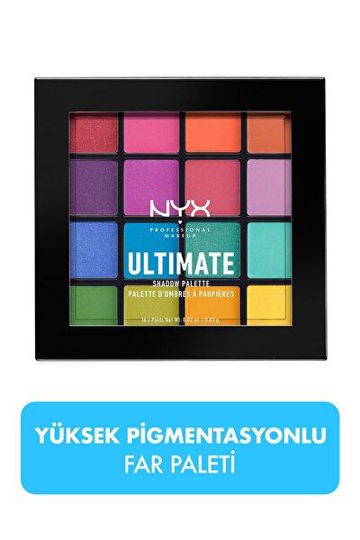 NYX Professional Makeup Göz Farı Paleti - Ultimate Shadow Palette Brights 800897017651