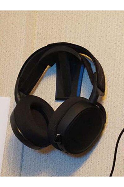 Bi'şeyler Sepeti Duvara Yapışkan Bantlı Kulaklık Stand - Siyah