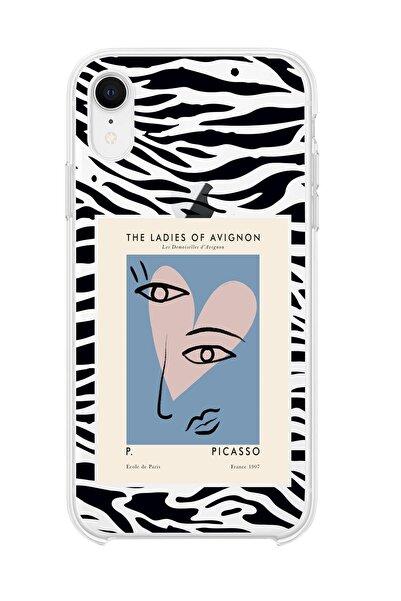 mooodcase Iphone Xr Uyumlu Picasso The Ladies Of Avignon Premium Şeffaf Silikon Kılıf