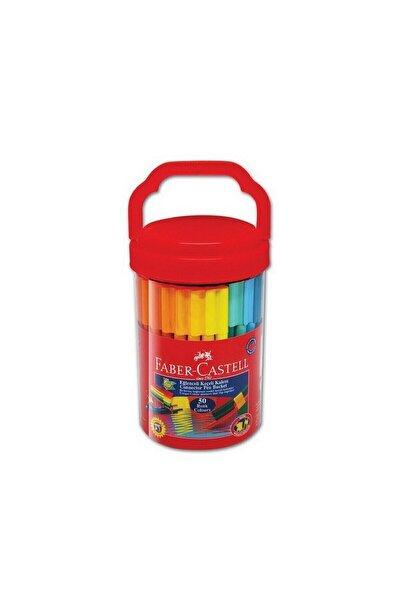 Faber Castell Kırmızı Eğlenceli Keçeli Kalem 50'li 5068111550 5638359