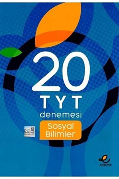 Endemik Yayınları Tyt Sosyal Bilimler 20 Li Deneme ( Yeni ) 2020   Endemik Yayınlar