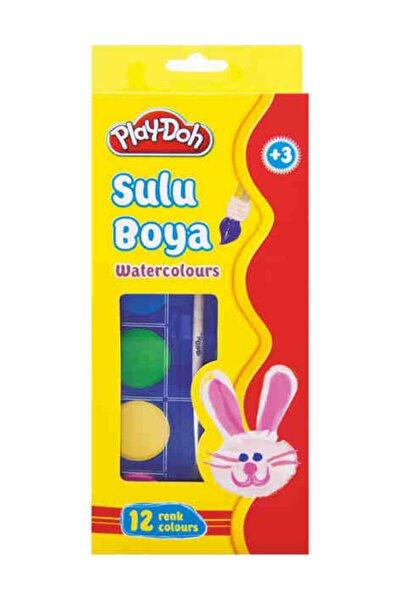 Play Doh Sulu Boya Play-doh 12 Renk Kucuk (play-su002)