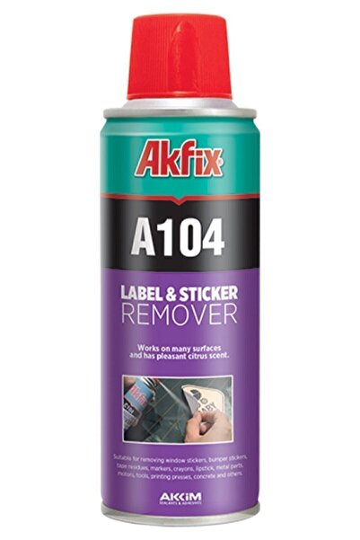 Akfix Kalite - Etiket Sökücü Sprey 200 ml