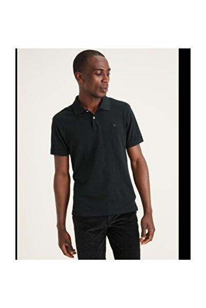 Dockers Erkek                  ICON POLO MINERAL BLACK Polo Yaka T-Shirt A1159-0000