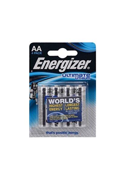 Energizer Ultimate Aa Size Lithium Kalem Pil 4'lü Blister