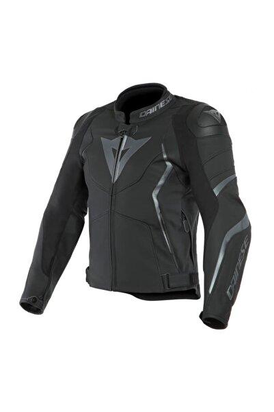 Dainese Avro4 Deri Motosiklet Ceketi Siyah