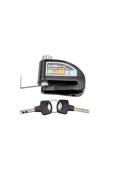 Universal Ürünler - Motorsiklet Motor Alarmlı Disk Kilidi 6mm 110db Ses Kalitesi
