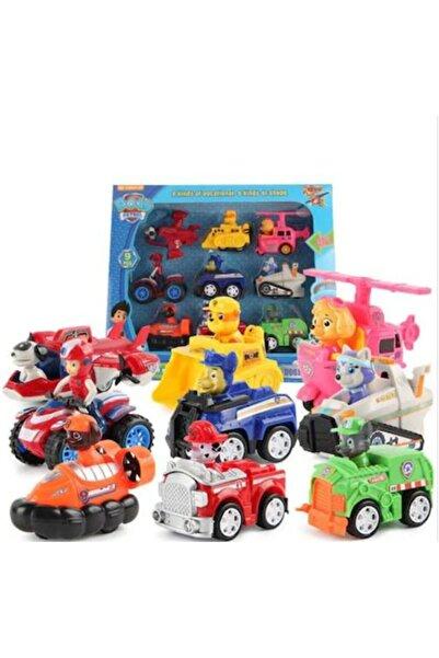 PAW PATROL Oyuncak Görev Araçları Oyuncak Figürleri Ve Araçları 9 Araç 9 Figür