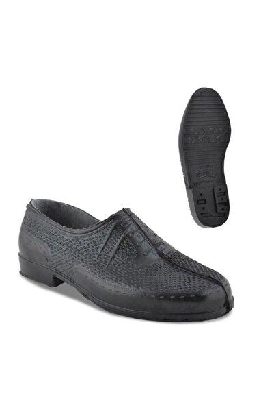 Uğur Çiftçi Içi Astarlı Garalastik Erkek Ayakkabı