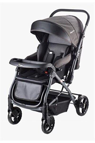 Baby Care Bc 65 Capron Çift Yönlü Bebek Arabası Siyah S