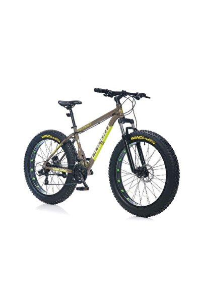 Corelli Zengo 26 Jant Fat Bike H.disk Fren 21v K:16 Gri-yeşil
