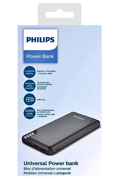 Philips Dlp2010nb 10000mah 37 Wh Led Göstergeli Siyah Taşınabilir Powerbank