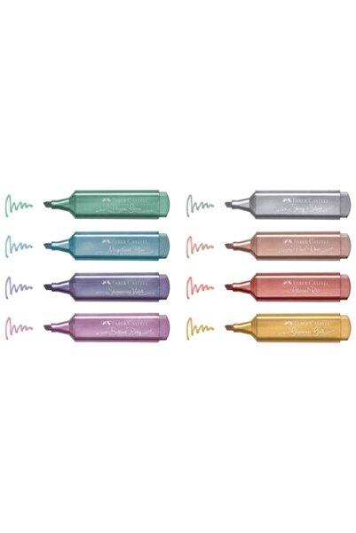 Faber Castell Fosforlu Kalem Seti Metalik 8 Li
