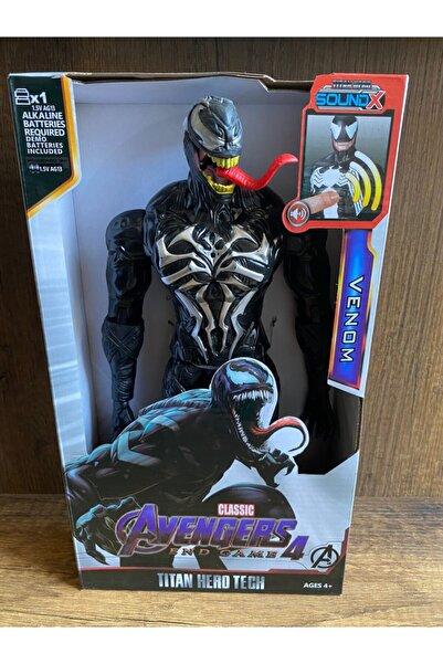 MARVEL Venom The Amazing Spiderman Action Figür Oyuncak Işıklı Sesli 29 Cm Oyuncak Venom Figür