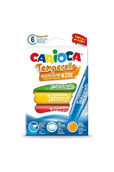 CARIOCA Temperello Stick Poster Boya Kalemi 6lı