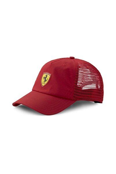 Puma Ferrari Sptwr Race Trucker Cap Unisex Kırmızı Şapka - 02348101