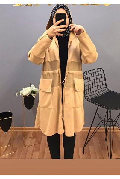 JADE Jaade Uzun Kapşonlu Ceket