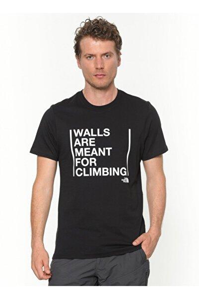 THE NORTH FACE Erkek Siyah T-shirt