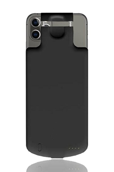 MobilCadde Iphone 11 Pro Max Lightning Girişli 5000 Mah Bataryalı Kılıf