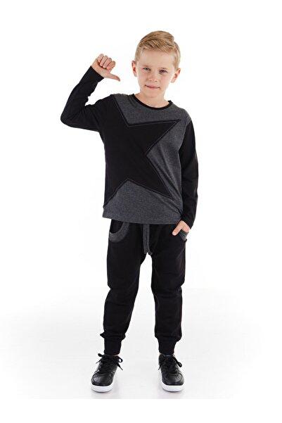 Mushi Yıldız Cepli Erkek Çocuk Pantolon Takım