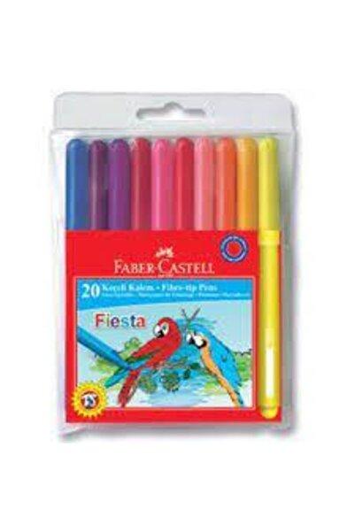 Faber Castell -castell 20 Renk Keçeli Kalem Fiesta