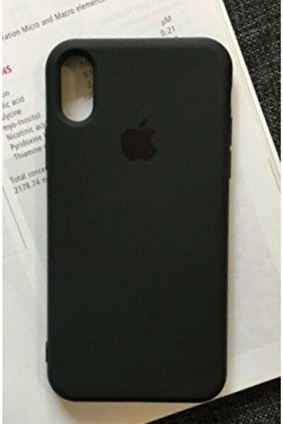Go Aksesuar Iphone X Ve Xs Uyumlu Siyah Renk Logolu Içi Kadife Lansman Kılıf