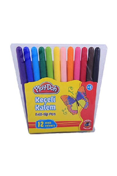 Play Doh 12 Renk Keçeli Kalem