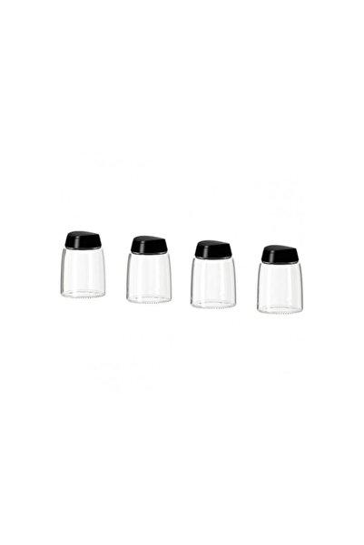IKEA 365+ Ihardıg Cam Baharat Kavanozu / 4lü 15 Cl