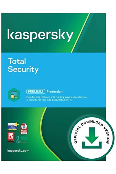 KASPERSKY Total Security ( Son Sürüm ) 3 Cihaz 1 Yıl
