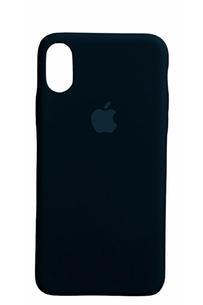 CAPIN Iphone X Xs Lansman Logolu Içi Kadife Renkli Silikon Kılıf X Kılıf
