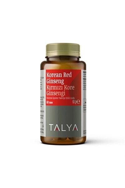 Talya Korean Red Gınseng Kırmızı Kore Ginsengi Ekstresi Içeren Takviye Edici Gıda