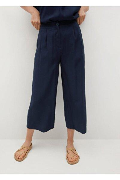 MANGO Woman Pilili Pantolon Etek