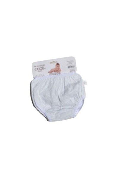 Sebi Kız Erkek Bebek Pamuklu Tuvalet Alıştırma Kilodu Beyaz - 24-36 Ay