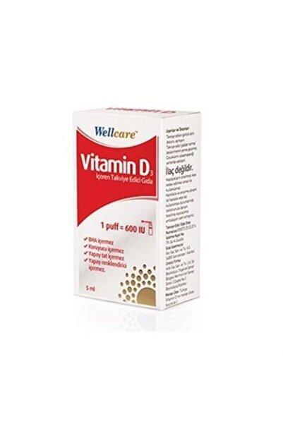 Wellcare Vitamin D3 600 Iu 5 ml Sprey
