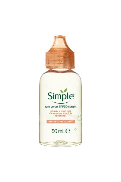 Simple Protect Glow Işıltı Veren Serum Spf 30 50 ml