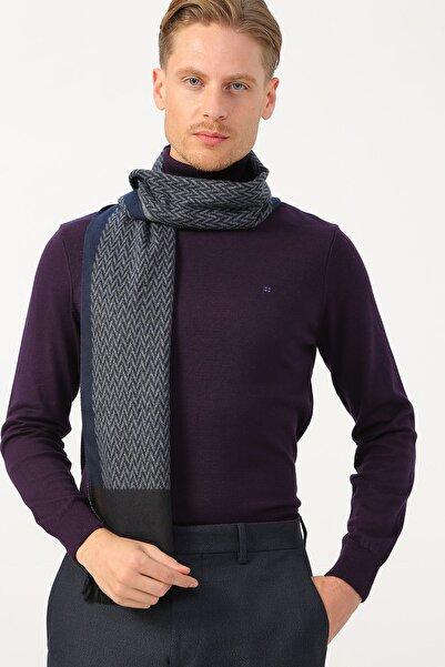 Cotton Bar Erkek Lacivert Klasik Pantolon 503759658