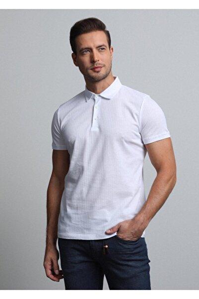 Ramsey Jakarlı Örme T - Shirt