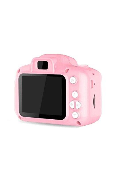 Mediatech Mini 1080p Hd Kamera Çocuklar Için Dijital Fotoğraf Makinesi 2.0 Inç Ekran 720-1080p Pembe Renk