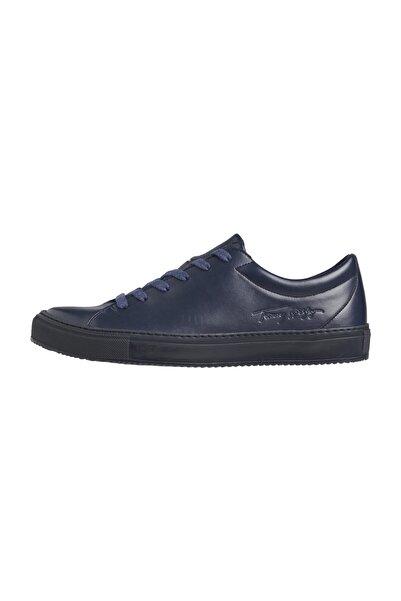 Tommy Hilfiger Erkek Mavi Sneaker Zero Waste Appleskin Cupsole FM0FM03088