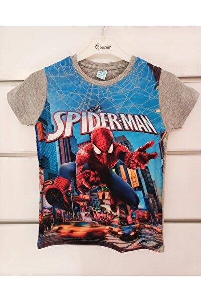 SPIDERMAN Kısa Kollu Erkek Çocuk Üst Tsirt Spider