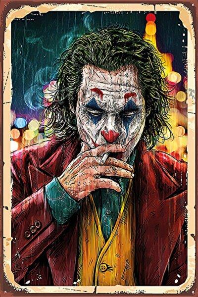 Hayal Poster Joker Retro Ahşap Poster 004