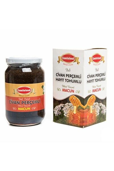 Cemil Efendi Civan Perçemi Hayıt Tohumlu Macun Ballı 420 gr
